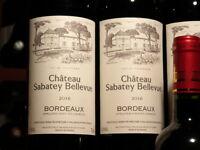 """12 Flaschen 2016er Château Sabatey Bellevue,""""Vollendete Vinifikation wie 2000er"""""""