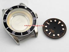 Sapphire 41mm watch Case + dial fit Miyota8205/8215,ETA 2836 Mingzhu 2813,p362