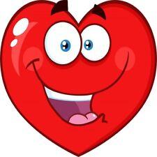 30 Custom Happy Heart Personalized Address Labels