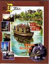 THE E TICKET #33 - magazine 2000 Walt Disney fanzine - DAVY CROCKETT Fess Parker