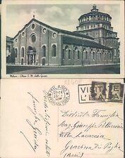 MILANO - CHIESA S. MARIA DELLE GRAZIE      (rif.fg.11408)