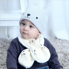 New Baby Scarves Scarf Cat Pattern Children Cute Cartoon Warm Neck Collar KS