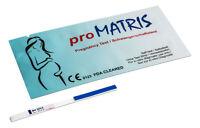 10x Pregnancy Test Strips Early Detection 10mIU HCG Urine Testing Kits