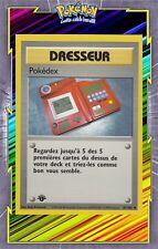 🌈Pokédex - Set de Base Edition 1 - 87/102 - Carte Pokemon Neuve Française