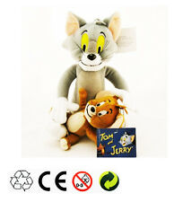 Tom & Jerry Plush Doll Soft Cute Stuffed Cartoon Anime Cat & Mouse Toy Kid Gift