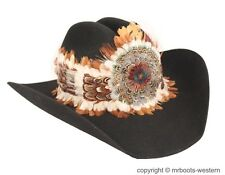 Western Feather Hat Band for Cowboy Hats SGF-FB-600