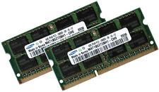2x 4gb 8gb ddr3 di RAM 1333mhz Fujitsu Siemens Lifebook ph520 s710 Samsung Memoria