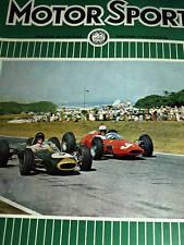Jim Clark Lotus Climax V8 25 South African Grand Prix GP F1 East London 1963