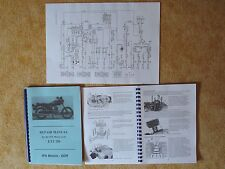 Repair Manual Reparaturanleitung MZ ETZ 250 A3 Schaltplan wiring diagram english