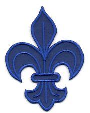 Patch ecusson brodé FLEUR DE LYS roi de france royal