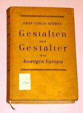 GESTALTEN UND GESTALTER HEUTIGEN EUROPA C. SFORZA 1931