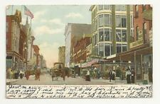 BALTIMORE MD Lexington Street Market Horse & Buggy 1906