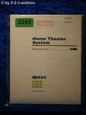 Sony Bedienungsanleitung HT SL55 /SL50 /SL40 Home Theater System (#2242)
