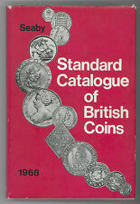 * SEABY, Standard catalogue of British coins, monnaies anglaises, 1968