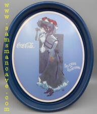 Coca Cola 1912 Calendar Lady Tray