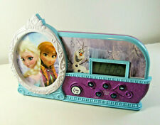 Disney Frozen Night Glow Alarm Clock, Elsa, Anna,&Olaf Light Up, Let It Go alarm