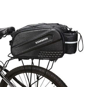 Bicycle Trunk Bag Mountain Bike Rear Rack Luggage Seat Carrier Pannier Pack