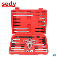 46Pc Gear Puller Steering Wheel Pulley Removal Harmonic Balancer Set Crank Shaft