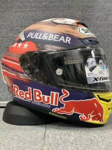 Red Bull Moto GP Motorcycle Racing Full Face Helmet Rodeo Marc Marquez X14 93 V4