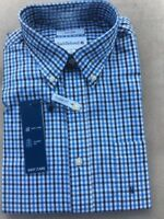NWT Men's Saddlebred Long Sleeve Woven Shirt Classic Fit Size M/L/XL/2XL