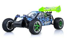Exceed RC Froza 1/10 Nitro Gas .18 Engine Remote RC RTR Buggy Fire Black