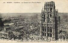 CPA  Rouen - Cathédrale - Le Sommet de la Tour de Beurre   (201494)