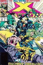 X-FACTOR  #73 1991 -MULTIPLE PROBLEMS- CROWD CONTROL  DAVID/ HARRAS...NM-