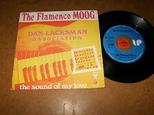 DAN LACKSMAN ASSOCIATION - THE FLAMENCO MOOG - THE  - 45 PS  / LISTEN - PSYCHE