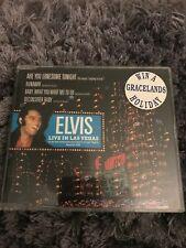 Rare Elvis Presley 4 Track UK CD Single - Live in Las Vegas