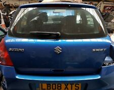 GENUINE SUZUKI SWIFT REAR BOOT LID TAILGATE IN BLUE COMPLETE 2005-2010