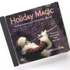 Holiday Magic Jazzy Jingle Classics CD USA 2000 Let it Snow Cool Yule Santa Baby