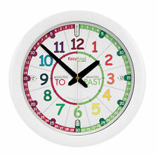 EasyRead Children's Time Teaching Learn to Tell the Time Wall Clock
