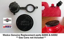 Rear Vent Cap 84003 +Stopper Seal Disc 84002 Wedco Briggs Stratton Gas Can Parts