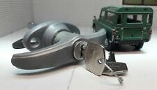 Cat Flap Catflap Upper Tailgate Handle Lock & key Land Rover Series 1 86> 2 2a 3
