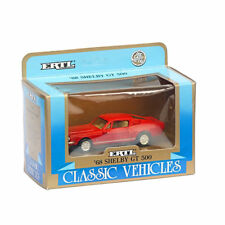 1:43 Scale 1968 Shelby GT500 Model Diecast Ertl 2804 Ford Mustang Red NIB