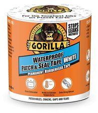 Gorilla White Tape Waterproof Patch Seal Strong Rubberised Roof Leak Repair