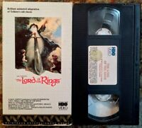 The Lord Of The Rings VHS Rare HBO Video Release JRR Tolkien