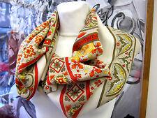 Hermès Carré Kaschmir Seide 140x140cm Ciels Byzantins cashmere silk scarf ID4152