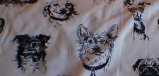 """""""BOW Wow Wow"""" Fabric by Alexander Henry-100% Cotton 32"""" Piece"""