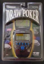 Radica Flip Top DRAW POKER Electronic Game - New in Pkg!