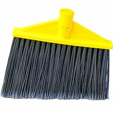 Rubbermaid Commercial FG639700GRAY Polypropylene Angle Broom Replacement Head fo