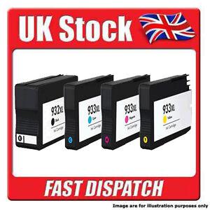 BLACK / MAGENTA / YELLOW / CYAN HP 932 ( K ) - HP 933 ( M/Y/C ) Ink Cartridges