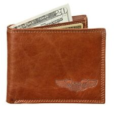 Gifts For Aviators Pilot Wings Leather Wallet
