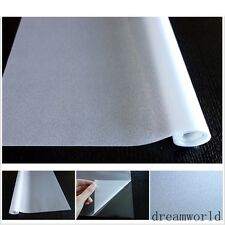 Frosted Clear Window Film Transparent self-adhesive Sticker Glass Home Office