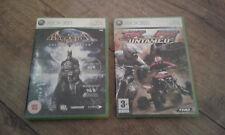 Microsoft XBOX 360 Live Batman Arkham Asylum Mx Vs Atv Untamed Juegos De Carreras Bicicleta