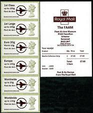 Fleet Air ARM MUSEUM LOGO azienda ma13 Machin COLL set/6 machins Post & Go