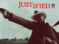 Justified Movie POSTER 11 x 17 Timothy Olyphant, Natalie Zea, Nick Searcy, C