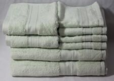 Ralph Lauren Westlake Eight Piece Bathroom Towel Set Solid (Light) Green New