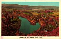 Vintage Postcard - Chemung River Valley Finger Lakes New York NY #4115