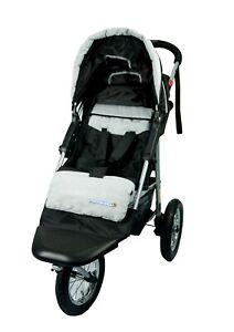 Brand New 3 wheel Black Jogger Baby Pram Buggy Baby Stroller Jogger